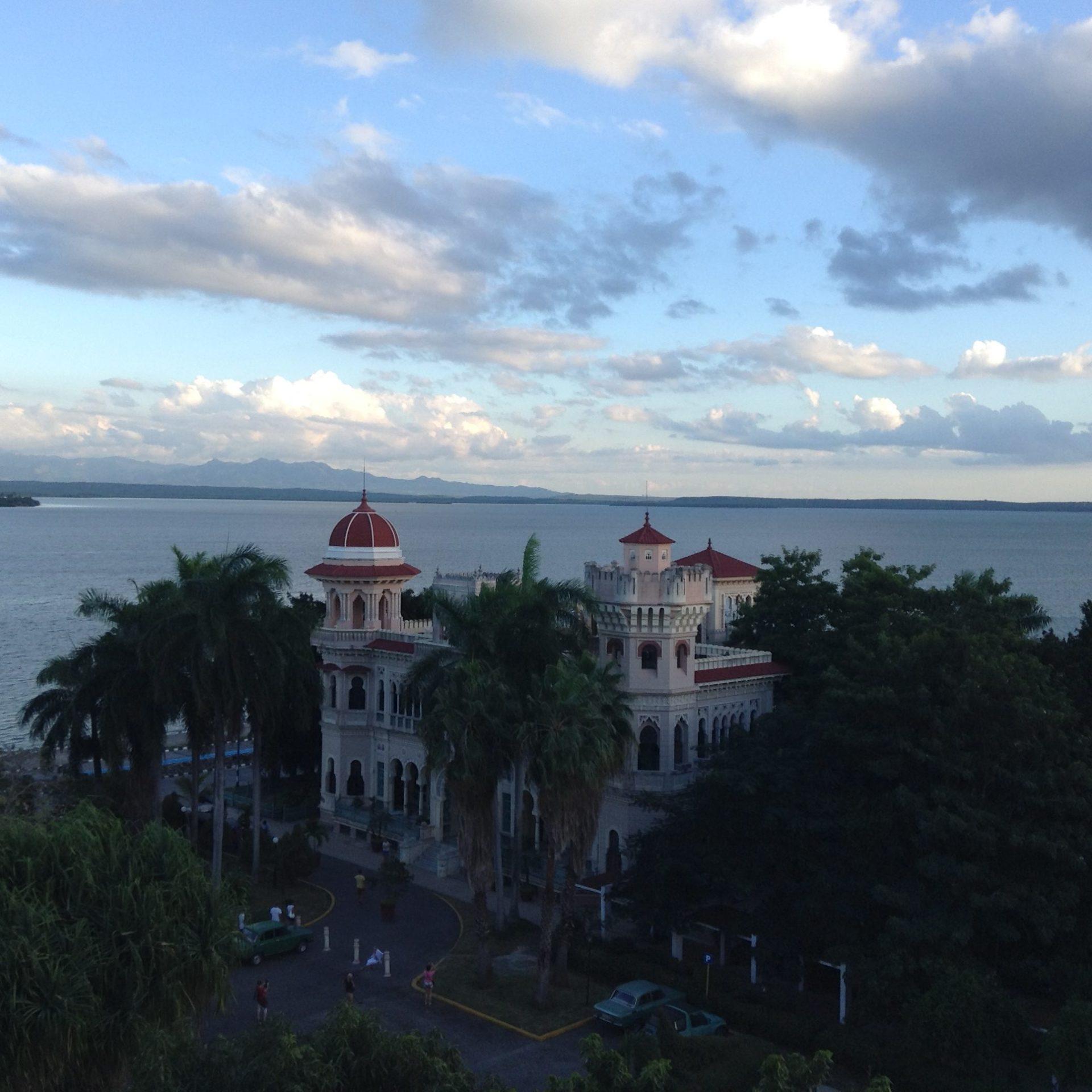 Colonial Casa Verde by Cienfuegos Bay.