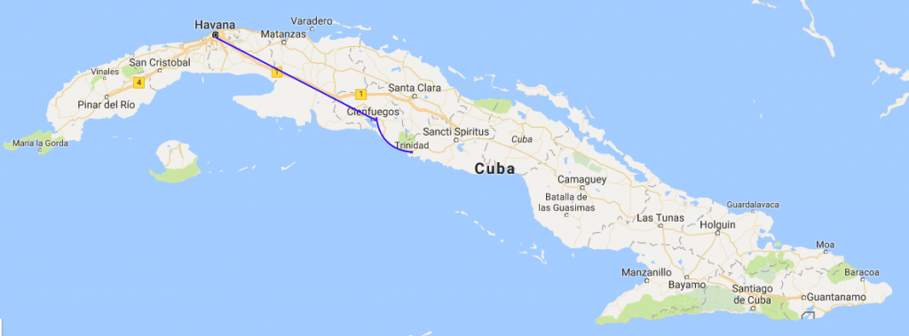 Cuba Map Behind the Headlines